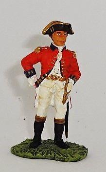 BRITAINS, 17347, 1/32, AMERICAN REVOLUTION LT. GENERAL JOHN BOURGOYNE, (BOXED)