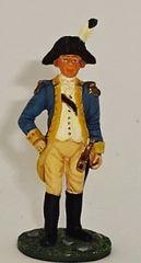 BRITAINS, 17443, 1/32, AMERICAN REVOLUTION MARQUIS DE LAFAYETTE, (BOXED)