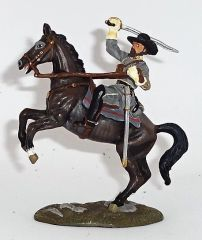 BRITAINS, 17100, 1/32, CONFEDERATE NATHAN BEDFORD FOREST vs UNION IRON BRIGARD OFFICER , (BOXED)