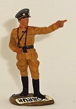 BRITAINS, OO285, 1/32, GENERAL ERWIN ROMMEL , (BOXED)