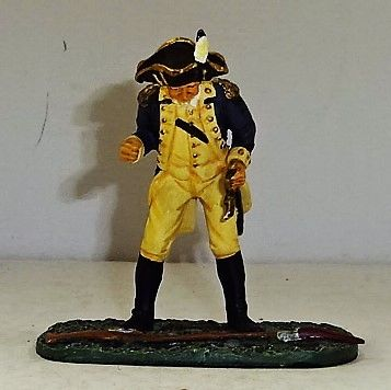 "BRITAINS, 17444, 1/32, AMERICAN REVOLUTION GENERAL ""MAD"" ANTTHONY WAYNE, (BOXED)"