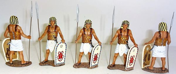 KING AND COUNTRY, AE009, EGYPTAIN PALACE GUARD SET,(BOXED)