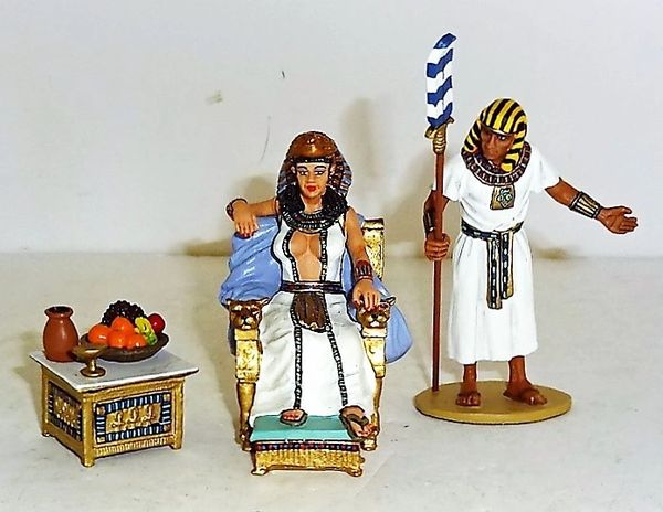KING AND COUNTRY, AE020, CLEOPATRA SET, (BOXED)