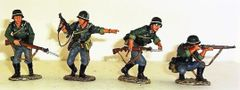 KING AND COUNTRY, WS039, GROSS DEUTSCHLAND INFANTRY SET, (BOXED)