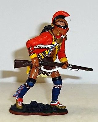 KING AND COUNTRY, BR042, 1/30, EAST COAST INDIAN, (BOXED)