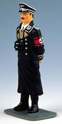 KING AND COUNTRY, LAH010, 1/30, SS GENERAL WEARING LONG COAT, (BOXED)