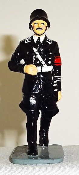 KING AND COUNTRY, LAH004B, 1/30, SS OFICER WEARING HELMET, (BOXED)
