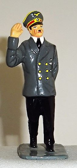 KING AND COUNTRY, LAH005, 1/30, ADOLF HITLER WEARING GREY COAT, (BOXED)