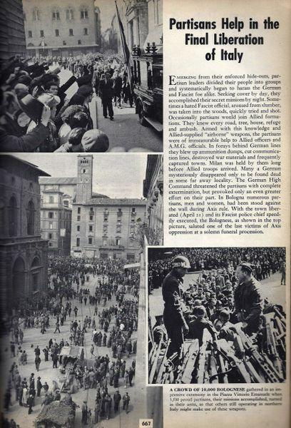 WORLD WAR II IN PICTURES, VOL III, NOVEMBER 1944 - SEPTEMBER 1945