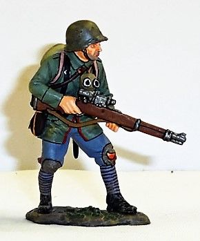 KING AND COUNTRY, FW216, STANDING GERMAN SNIPER (BOXED)