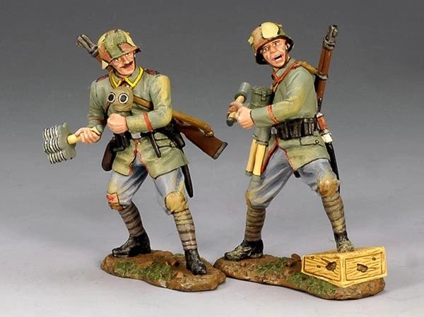 KING AND COUNTRY, FW051, 1/30, GERMAN Assault troops, Grenadiers, BOXED