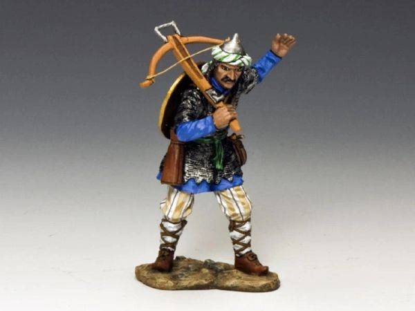 KING AND COUNTRY, MK098, SARACEN WITH CROSSBOW, (BOXED)