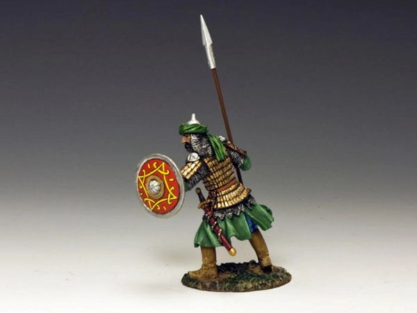 KING AND COUNTRY, MK100 SARACEN WITH SPEAR, (BOXED)