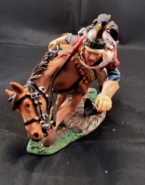 Collectors Showcase, CS00811, 1/30, French Cuirassier Falling. (Boxed)
