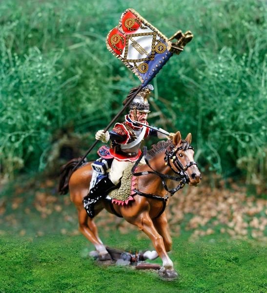Collectors Showcase, CS00810, 1/30, French Cuirassier Standard Bearer (Boxed)