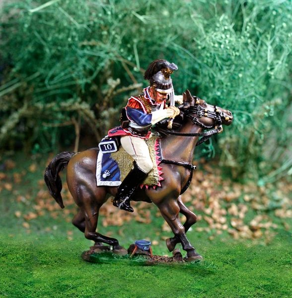 Collectors Showcase, CS00814, 1/30, French Cuirassier Cantering (Boxed)
