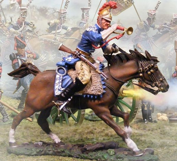 Collectors Showcase, CS00498, 1/30, French Carabinier Bugler (unboxed)