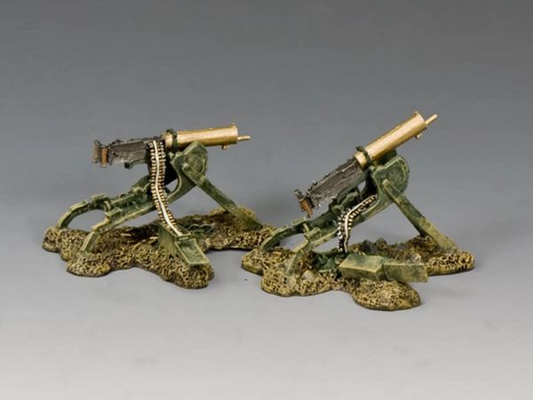 KING AND COUNTRY, FW201, 1/30, Spoils of War, German MG08, BOXED