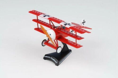 Postage Stamp Planes, Von Richthoffen's plane. Red Baron triplane 1/100th scale Boxed