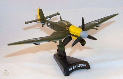 Model Power Postage Stamp Planes, Stuka JU87D Tank Buster 1/100th scale boxed