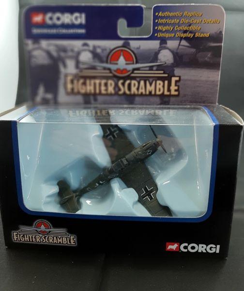 CORGI FIGHTER SCRAMBLE MESSERSCHMITT BF109 DIECAST MODEL Battle of Britain