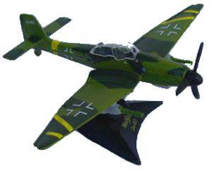 Maitso Tailwinds Stuka JU-87 Hans Rudel, 1/100th scale boxed