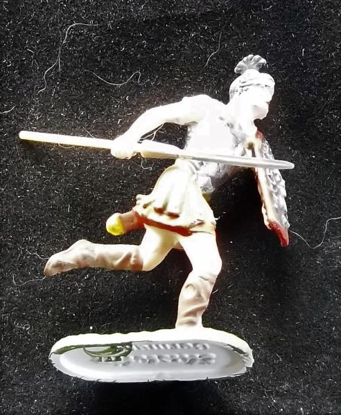 ELASTOLIN, 40MM, K4-8426 Painted Roman with Medusa Shield Unboxed (2 in stock)