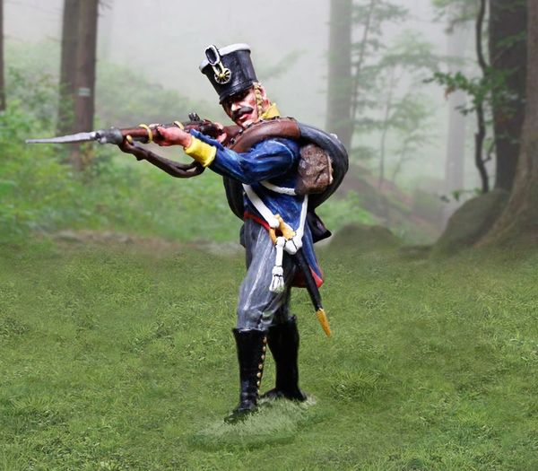 The COLLECTORS SHOWCASE, CS00896, 54mm Prussian Line Inf. Firing