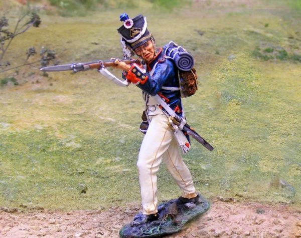 THE COLLECTORS SHOWCASE, CS00667, 54mm French Line Infantry firing