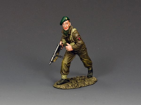 KING AND COUNTRY, DD333, 1/30, Free French Commandos Grenadier, (BOXED) (1 available)