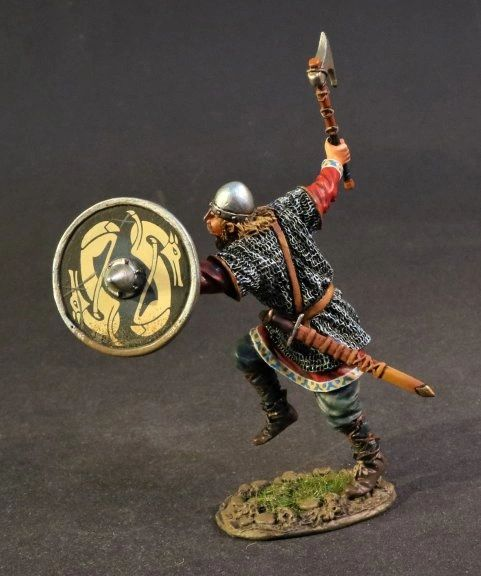 John Jenkins Designs, VIK-15B, Dark Ages, 1/30th, Viking Warrior Running (1 pcs)