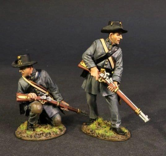 John Jenkins Designs, CSPR-08, ACW, 1/30th, Palemetto Riflemen (2 pcs)