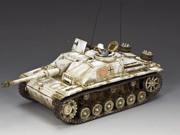 KING AND COUNTRY, BBG118, The Winter STUG III (BOXED)