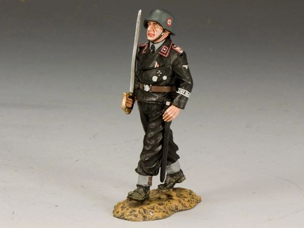 KING AND COUNTRY, WS162, 1/30, Waffen SS Officer w/Sword (BOXED)
