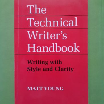 The Technical Writer's Handbook writing with style and clarity