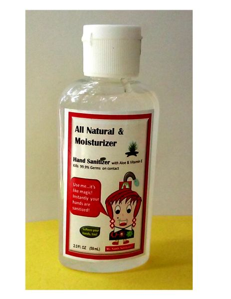 Sandy Sanitizer's All Natural & Moisturizer Hand Sanitizer