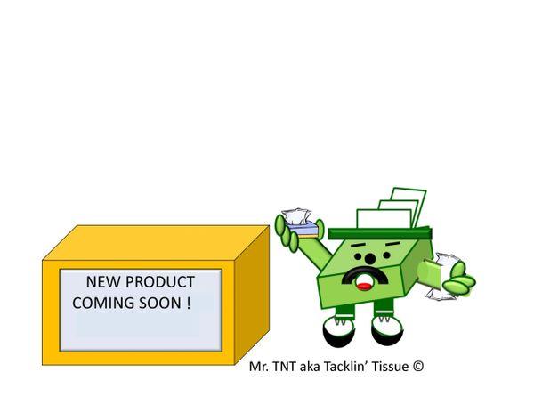 TNT AKA Tacklin' Tissue's Facial Tissue Pack