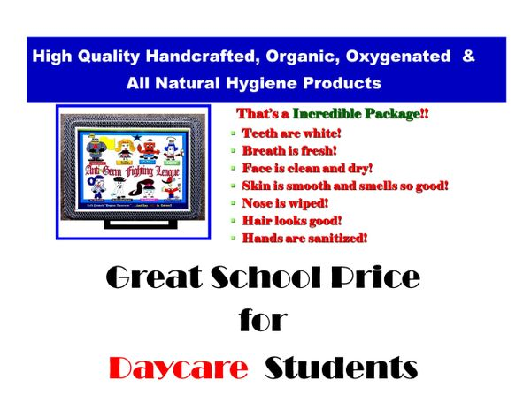 Daycare Hygiene Case Package