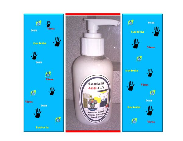Captain Anti. B's Antibacterial Linen Paradise Hand Soap