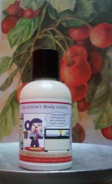Lily Lotion's Cherry Almond Body Lotion