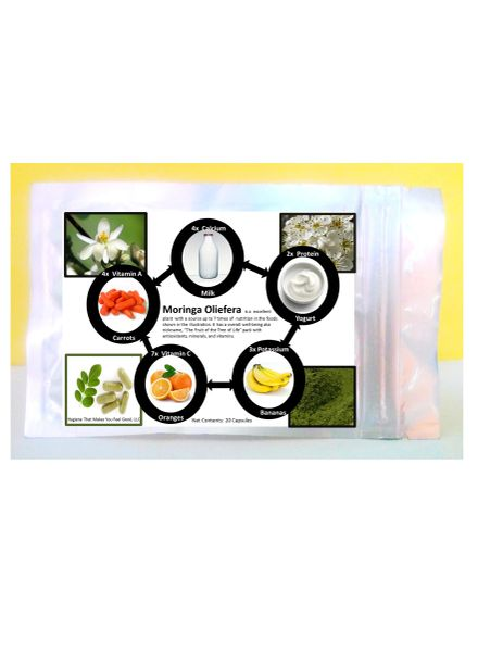 Moringa Oleifera Pills