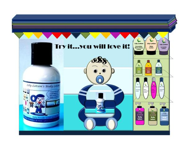 Lily Lotion's Baby Powder Body Lotion