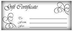 Gift Certificate - $75.00