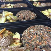 Black Bean Burgers - 4 Pack (potatoes NOT included)