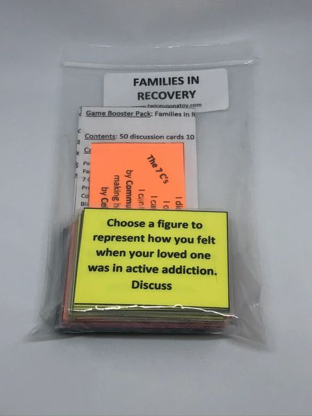 Game Booster Pack- Families in Recovery