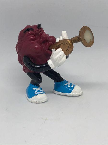 California Raisin Playing Trumpet