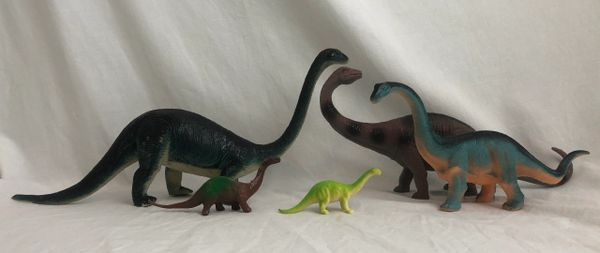 Brontosaurus Family