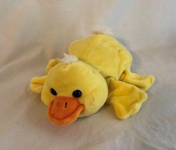 Yellow Duck Puppet