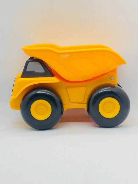 Yellow Dump Truck