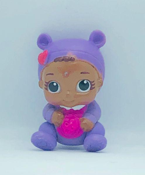Baby in Purple Pajamas